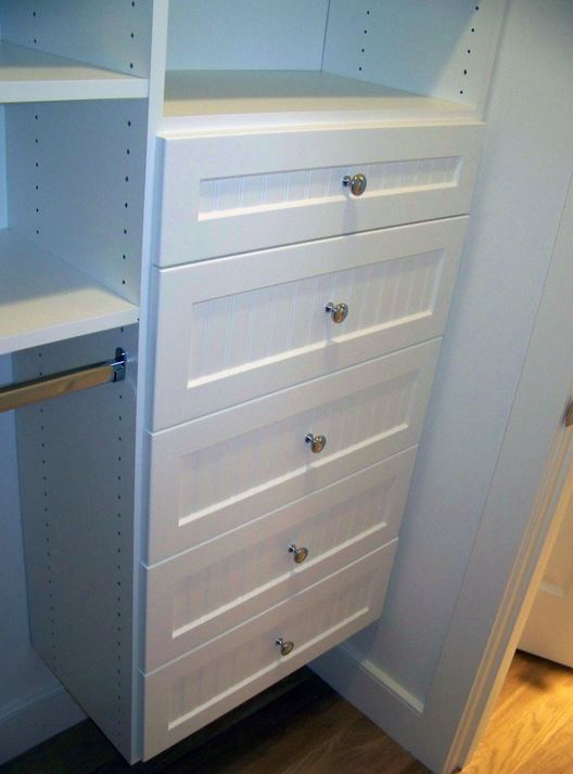 Expert Closets Expert Closets Custom reachin closets Cape Cod