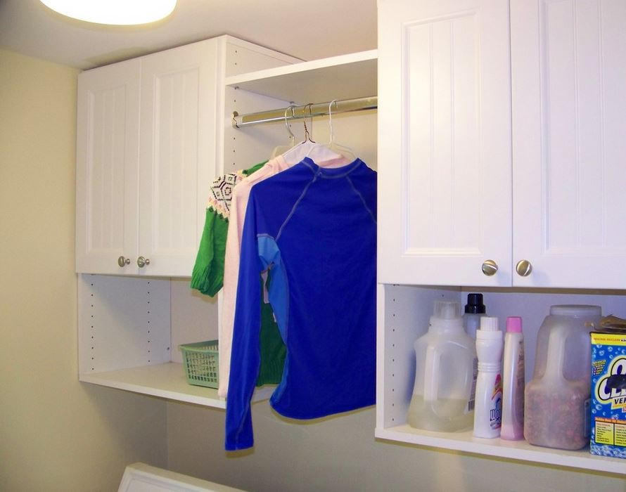 Laundry Room Storage. Watch Our Commercial!